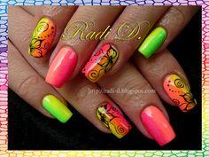It`s all about nails: Rainbow  #nail #nails #nailart