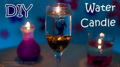How To Make A Water Candle DIY Burning Water IdunnGoddess 2