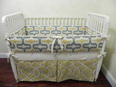Ready to Ship Baby Crib Bedding Set Macon   by BabyBeddingbyJBD, $239.00