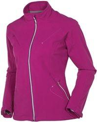 This fleece jacket is waterproof up to 6 hours of steady rain. Nice! #golf4her.com #sunice
