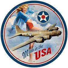 Aviation Pin Ups : Photo