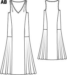 43f08773596 also has a late 1920s vibe 105b-042015-b large 1920s Dress Pattern