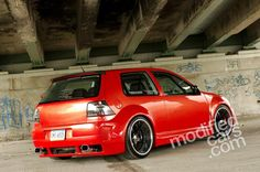 Modified VW Golf MK4 Supercharged 2000 Picture