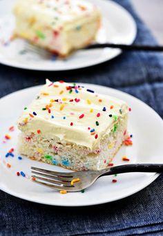 Skinny Funfetti Cake - Life In The Lofthouse
