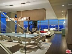 $15M Penthouse in South Park's Ritz-Carlton Residences Has Great View, Hilarious Chairs - New to Market - Curbed LA