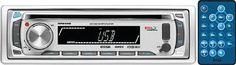 BOSS AUDIO MR648S Marine Single-DIN CD/MP3 Player Receiver, Detachable Front ...