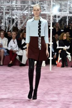 A look from Dior Haute Couture spring 2015. Photo: Pascal Le Segretain/Getty Images