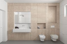 Projekt łazienki ze sklejki on Behance