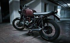 Inazuma café racer: R80 by Motorecyclos... Inazumized