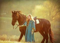 alfsaga    The Horse Maiden By (nikaa)