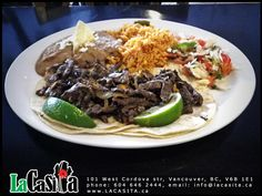 Tacos   LaCasita, La Casita Gastown  Mexican Food Restaurant  101 West Cordova str, V6B 1E1  Vancouver, BC, CANADA
