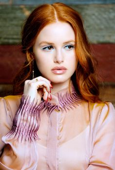 "madelainesource: ""Madelaine Petsch for Luca Magazine """