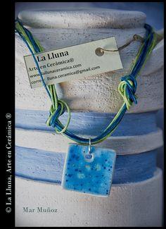 """Línea """"Agua"""" de """"Diseño Colores""""- Diseño exclusivo de La Lluna, Arte en Cerámica®"""