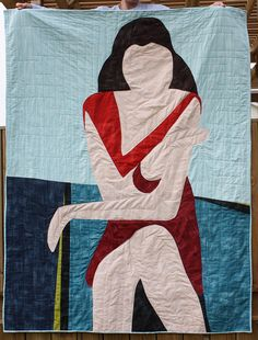 I love the quilt and the quilting. Fantastic.