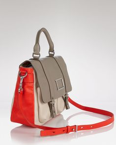 MARC BY MARC JACOBS Messenger Bag - Werdie Colorblock Top Handle