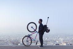 Introducing our latest urbanite, bike polo champion and pioneer Yorgo Tloupas.