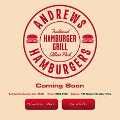 Andrews: The best burger I've had in Melbourne so far. And I think the burgers in Melbourne are really good overall.