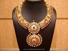 Latest Model Gold Bridal Jewellery Designs 2016, Gold Antique Bridal Jewellery Designs, Gold Bridal Jewellery Necklace Designs 2016.