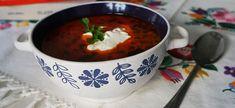 Blog - Jókaiho fazuľová polievka s čipetkami Chili, Soup, Blog, Chile, Blogging, Soups, Chilis