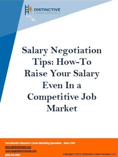 Negotiating a salary after a job offer is something that many people struggle to do effectively. These 5 salary negotiation tips and action steps will ensure that you are prepared to negotiate your salary for a new job in a way that is best for you.
