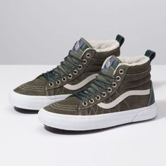 026604aed21 Vans SK8-HI(MTE)Dusty Olive. Bare Wires Surf Shop