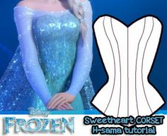 H-SAMA blog: COMO FAZER? Cosplay de Elsa Snow Queen- Frozen