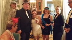 Flappers and Gangstas at Seven Sisters Inn in Ocala Florida. More info: http://sevensistersinn.org