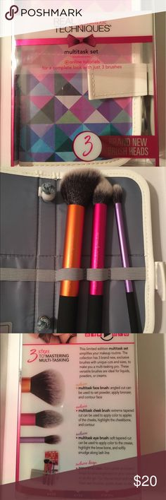 Real Techniques Makeup Brush Set Brand new! Only opened to photograph! Makeup Brushes & Tools