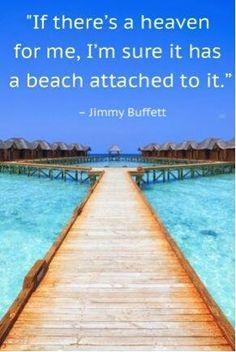 | Beach = Happy Place |