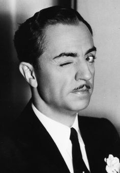 donadrake:  William Powell, 1930's  heres lookin at you