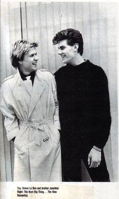 Simon Le Bon With His Brother Jonathon - Duran Duran Forever