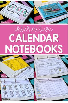 Set up a kindergarten calendar wall in your classroom to help your students master important math concepts with a fun routine! My interactive calendar notebook includes printables loaded with tons of ideas and activities to help you save time! Learn fun songs and have a great time during your calendar block!#kindergarten #calendar #math