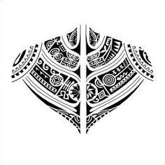 Marquesan backpiece tattoo