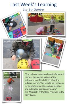 """Early Learning at ISZL: Counting on a bigger scale ("""",) Play Based Learning, Learning Centers, Reggio Emilia, Learning Stories Examples, Classroom Rules, Classroom Ideas, Outdoor Classroom, Kindergarten Activities, Preschool"""