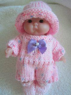 Knit Romper Play Suit Berenguer Itty Bitty Baby Doll by WeGirls