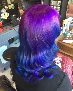 Happy hair! #purplehair #rainbowhair #hoxton #shoreditch #dalston #mermaidhair #rockalilycuts