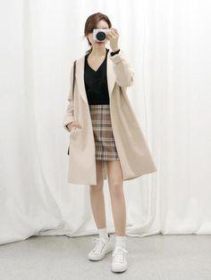 Korean daily fashion official korean fashion: outfit ideas к Korean Fashion Minimal, Korean Fashion Winter, Korean Fashion Trends, Korean Street Fashion, Korea Fashion, Asian Fashion, Daily Fashion, Preppy Look, Ulzzang Fashion