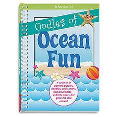 oodles of ocean fun activity book