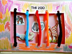 Kids are fascinated with animals of all kinds. What better to use for the Letter Z than a trip to the zoo! In this preschool lesson we used the Zoo to introduce the letter Z and make a fun zoo craft, as well. The kids loved it! #zoo #preschool Ducks n a Row  www.ducksnarow.com