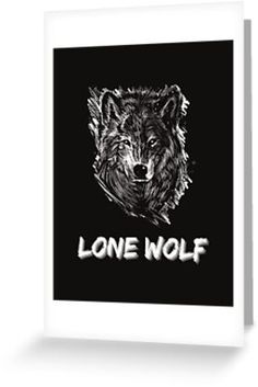 """A design that says """"Lone Wolf"""" with a sketch of a strong looking wolf. Perfect for those whose taking a journey alone to be the best version of themselves. • Millions of unique designs by independent artists. Find your thing. Lone Wolf, Take That, Design, Art, One Man Wolf Pack, Art Background, Kunst, Gcse Art, Design Comics"""