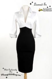 Lauren Dress in black and white. Love, love, love it!!!