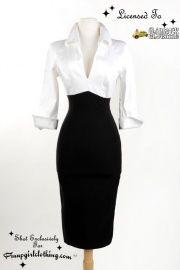 Lauren Dress in black and white. Love, love, love it!!!