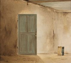 Giclées are reproductions on canvas. South African Artists, Shed, Doors, Abstract, Summary, Barns, Sheds, Gate