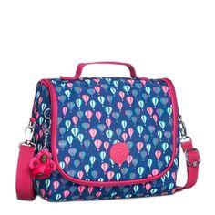 Compre KIPLING : Lancheira New Kichirou Azul e Rosa Balloon PR Kipling por R$399,00 - Kipling