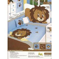 edredn cama cuna bordado para bebs marca baby nios  en