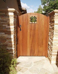 Quality Basic Mahogany Gate