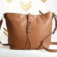 Neue Kollektion von Stella & Dot COVET. Echt Leder tasche !