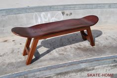 Skateboard Stool wood