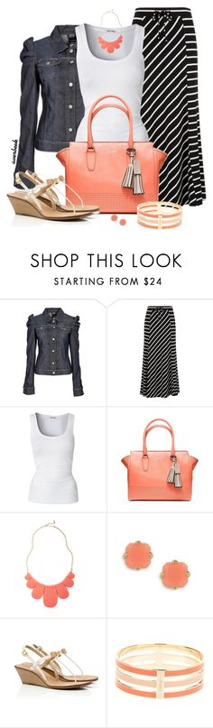 """""""Basic Tank and Maxi"""" by averbeek ❤ liked on Polyvore featuring Miss Sixty, American Vintage, Coach, BaubleBar, Tory Burch and Chloé"""