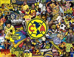 Imagen Conmemorativa para los 96 años de historia del Club América.